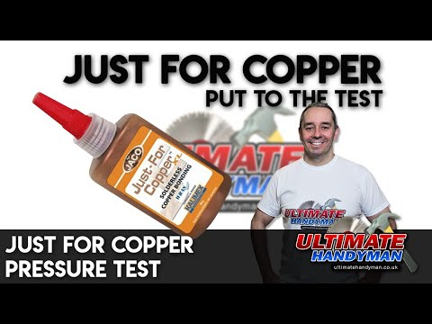 Just for copper pressure test
