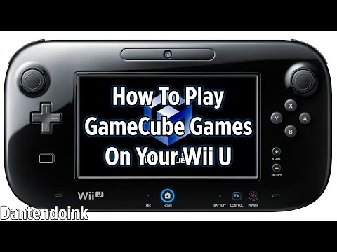 Read Description - How to Play GameCube Games on The Wii U
