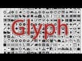 How to use glyphs in MS word & Photoshop,