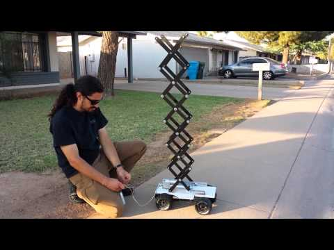 Scissor Lift Robot - Test 1