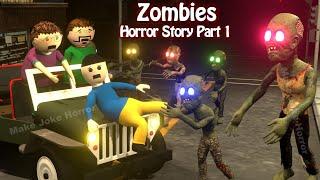 Zombies Horror Story Part 1   Ufo Scary Stories   Horror Movies 2020   Make Joke Horror
