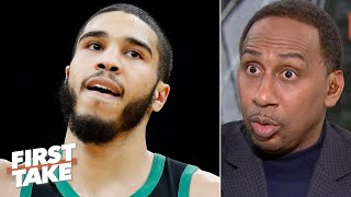 Stephen A.: 'My God, Jayson Tatum is coming!' | First Take