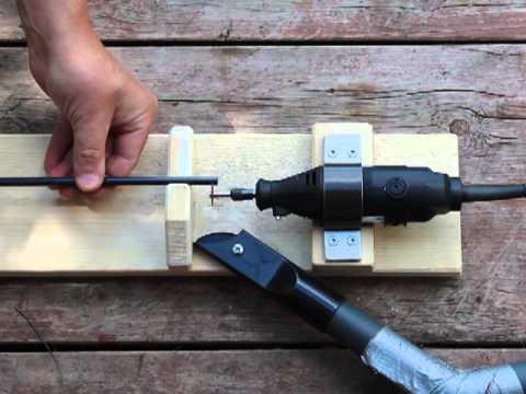 Hiilikuitunuolen katkaisu - Carbon arrow cutter