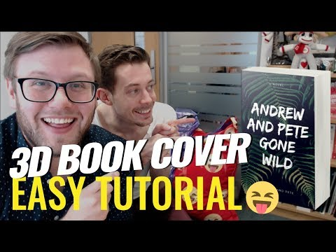 How to Make a 3D Book Cover (Free tool makes it super easy and quick)
