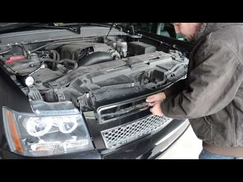 Removing a 2011 Chevy Tahoe Grille