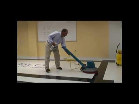 How to Spray Buff Floors