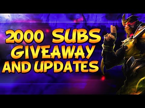 [OPEN] £50 RP GIVEAWAY: 2000 SUBSCRIBERS (5 Winners) - League Of Legends