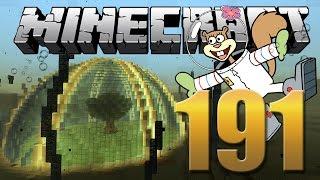 A Casa da Sandy Bochechas - Minecraft Em busca da casa automática #191.