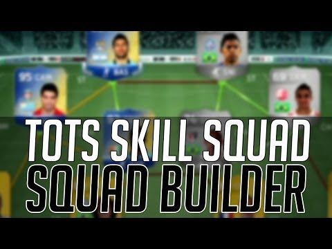 THE EXPENSIVE BPL TOTS HYBRID SKILL SQUAD   FIFA 14 Ultimate Team Squad Builder (FUT 14)