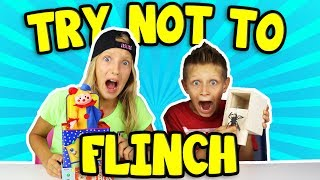 Try Not To Flinch Challenge!!!