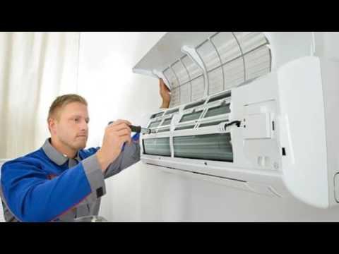 How to Clean a Mini Split Air Conditioner in Mini split warehouse.