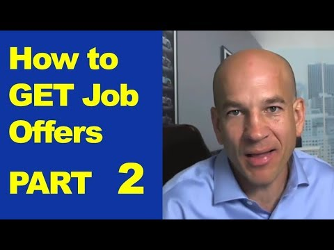 Making Sure You Get the Job Offer - Training Module 6
