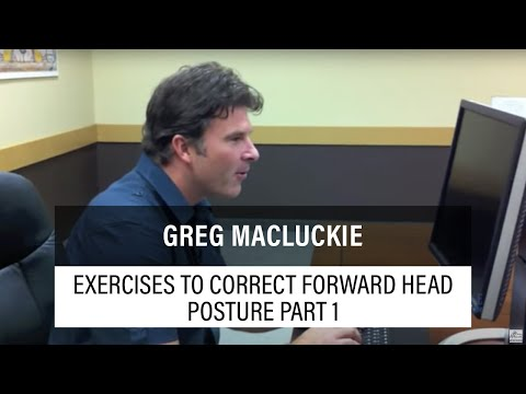 Exercises to correct Forward Head Posture and the Upper Crossed Syndrome Part 1