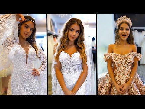 Xxx Mp4 I WENT WEDDING DRESS SHOPPING Omg 3gp Sex