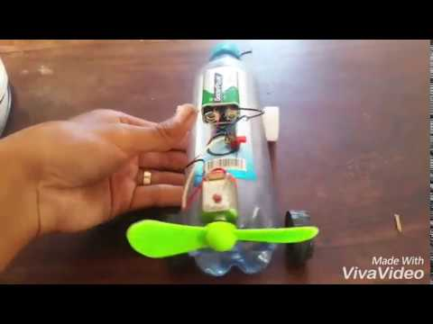 How to make a Balloon powered car very simple - Easy balloon Jet car Tutorials
