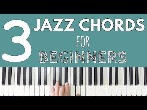 3 Jazz Chords Every Beginner Should Know!