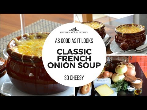 Easy FRENCH ONION SOUP recipe! Delicious & Tasty!