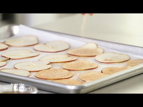 Baked Pear Chips - From The Test Kitchen
