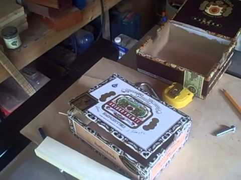 How to Make a Simple cigar Box Guitar
