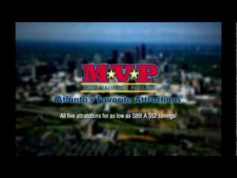 Mvp Ticket Package Atlanta S Favorite Attractions