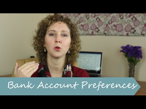 How to change which Bank Account QuickBooks selects