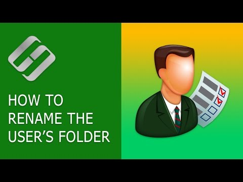 How to Rename the User's Folder in Windows 10 👨‍🎓📁✂️