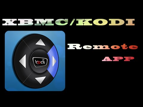 XBMC Remote control APP