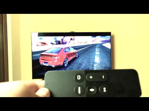 Apple TV 4th Gen Games with Siri Remote: Playing Asphalt 8