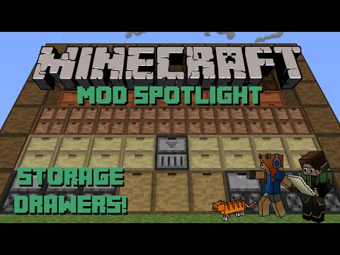Storage Drawers Mod - Minecraft Mod Spotlight