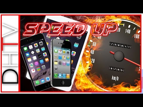 How To Speed Up A Slow iPhone, iPad or iPod Touch