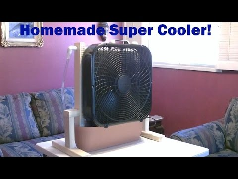 Homemade Evaporative Cooler! -