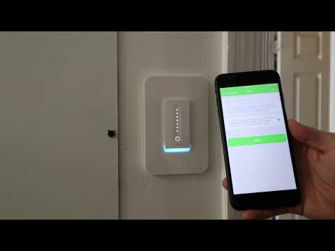 WeMo Smart Dimmer Light Switch- Unboxing, Setup + Installation, Review (Detailed)