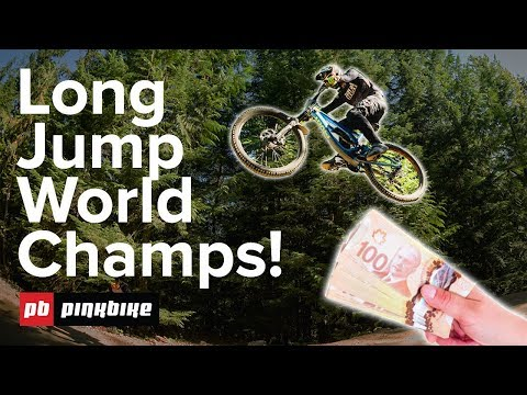Pinkbike Long Jump World Championships - THE FIRST ONE!
