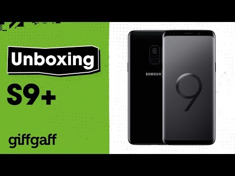 Samsung S9+ Unboxing | giffgaff