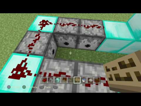 Minecraft ps4 how to build tnt cannon