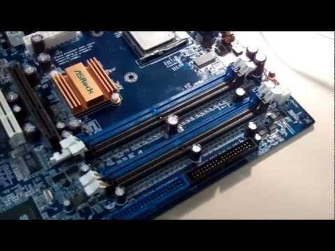 Motherboard Repair Tutorial - Bad Capacitor Replacement