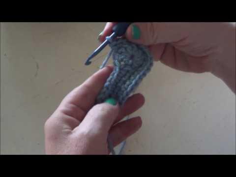Baby Bootie  - Crochet - Tutorial - English