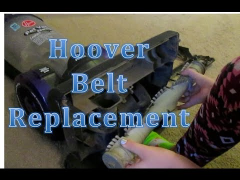 How Do I change My HOOVER upright Vacuum BELT repaclement Windtunnel Elite legacy Rewind Pro Pet 2 3