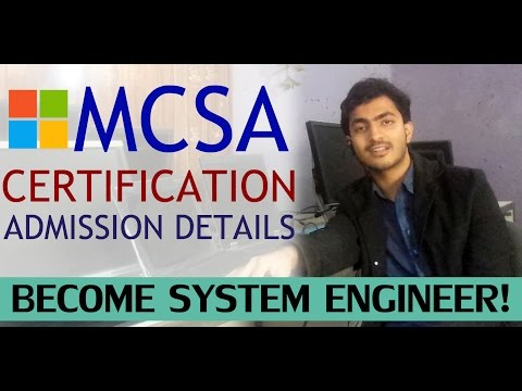 MCSA Online Training, Admission & Certificate: Urdu - Hindi