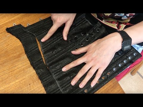 A Waist Trainers Diary - 10 - Altering A Corset Training Corset