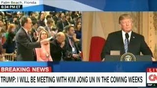 """""""If The Meeting Is Not Fruitful I Will Respectfully Leave The Meeting"""" Pres Trump On North Korea"""