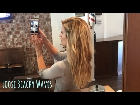 How to get Beachy Waves Without Heat