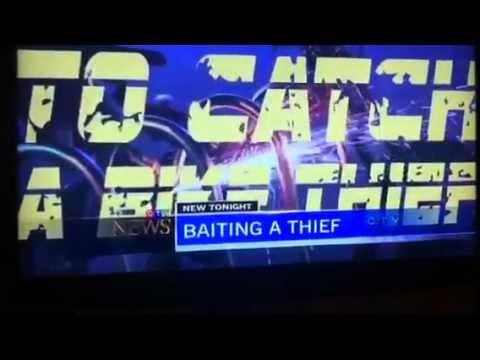 To Catch a Bike Thief on CTV