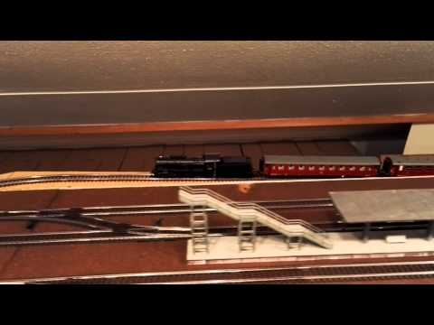 First round on model railroad layout