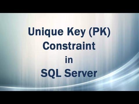 Unique Key (UK) Constraint in SQL Server