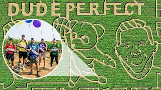 Dude Perfect Corn Maze | Nerf Battle
