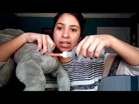 HOW TO HOLD AND GIVE YOUR PET ENEMA !