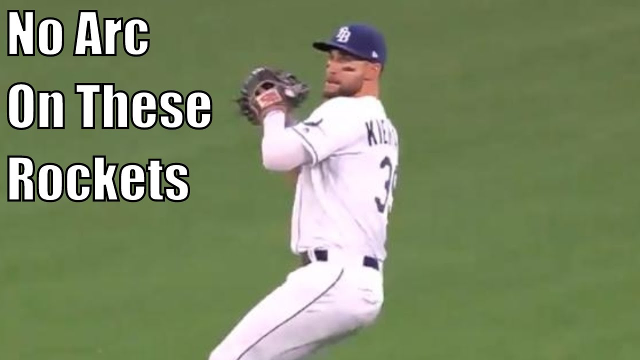 MLB Center Fielders Showing Off Their Arms Supercut