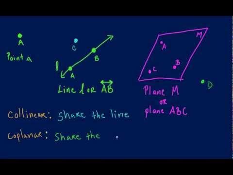 Geometry: Points, Lines, Planes Part 2