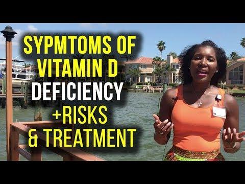 Vitamin D Deficiency Symptoms [2018]